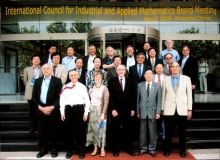 ICIAM Board in Shanghai during May 2006